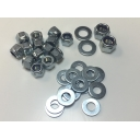 Chain Case Nut & Washer Kit Zink