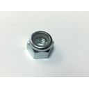 Wheel Rim White Nyloc Nut