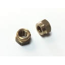 Brass Exhaust Nuts 7mm