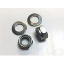 Rear Shock Half Nyloc Nut & Washer Set Mb