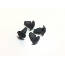Rear Frame Grommets grey