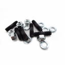 End Plate Stud, washers & Half Nut Set
