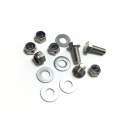 Rear mudguard fastener kit, Series 3, stainless steel