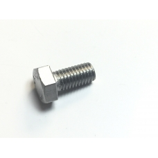 Screw, Hex set, 8 x 16mm, stainless steel
