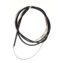 Aircraft Grade Gear Cable black
