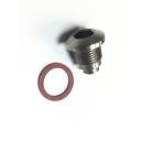 Crankcase Magnetic drain plug, stainless steel, MB