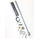 Headset handlebar internal rod kit, Throttle side, splined, Series 1/2, 320mm rod, MB