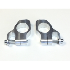 Top fork Damper Brackets, Bolt on type Aluminium LTH