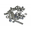 Crankcase side Stud & Nyloc Nut Set