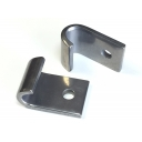 Stand & splash plate hook Set in st/st MB