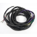 Wiring loom MB universal AC, AC-DC, DC, fits all, includes MB earth loom, Black,