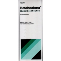 Betaisodona Standardised Solution 120ml