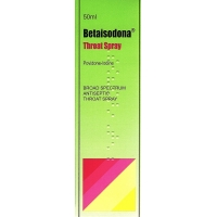 Betaisodona Throat Spray 50ml