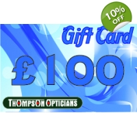 Thompson Opticians Gift Card - �100