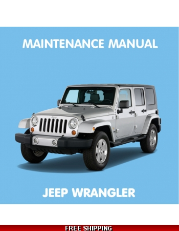 jeep wrangler jk 2007 workshop repair service manual pdf