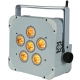 6 x 18W LED flood DMX Battery operated