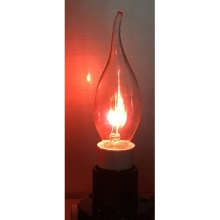 Flickering LED Candle Bulb