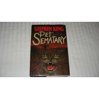 PET SEMATARY Stephen King FIRST E..