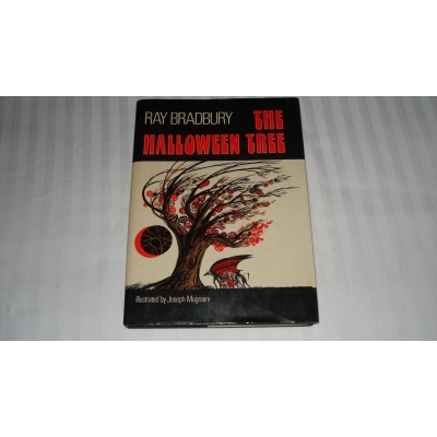 THE HALLOWEEN TREE author RAY BRADBURY FIRST EDITION 1972