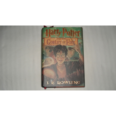 HARRY POTTER AND THE GOBLET OF FIRE author J K ROWLING 2000