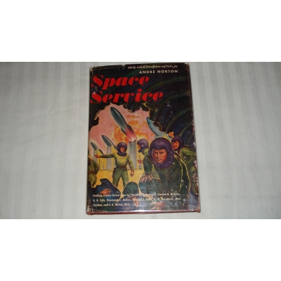 SPACE SERVICE author ANDRE NORTON FIRST EDITION 1953
