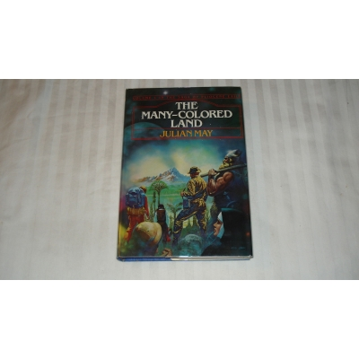 THE MANY COLORED LAND author JULIAN MAY FIRST EDITION 1981