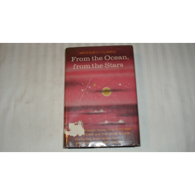 FROM THE OCEAN, FROM THE STARS author ARTHUR C CLARKE FIRST EDITION 1957