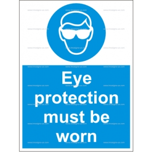 4.001.1 IMPA 33.5712 Eye Protection Must Be Worn 200x150mm