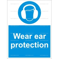 4.004.2 IMPA 33.5722 Wear Ear Protection 200x150mm