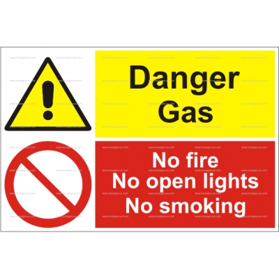 15.032 IMPA 33.3104 /33.3010 Danger Gas, No Fife 200x300mm