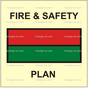3.001.1 Fire and safety plan 150x150mm