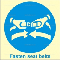 1.001 IMPA 33.5100 Fasten Seat Belts 150x150mm