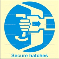 1.002 IMPA 33.5101 Secure Hatches 150x150mm