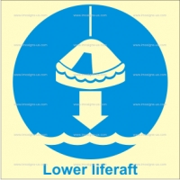 1.005 IMPA 33.5104 Lower Liferaft To Water 150x150mm