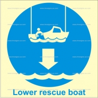 1.006 IMPA 33.5105 Lower Rescue Boat To Water 150x150mm