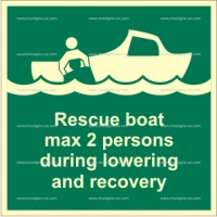 2.002.1 - IMPA 33.4128 Rescue boat MAX 2 persons 150x150mm