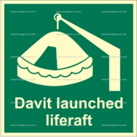 2.004 t IMPA 33.4103 Davit Launched Liferaft 150x150mm