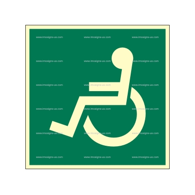 2.094.2 IMPA 33.4819 Disabled access Left 150x150mm