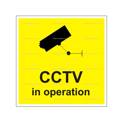 12.031 IMPA 33.2974 CCTV in operation 150x150mm