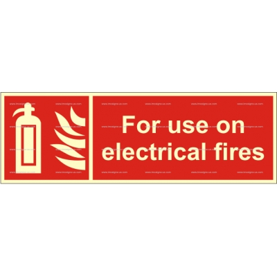 3.081.3 IMPA 33.6165 For use on electrical fires 100x300mm
