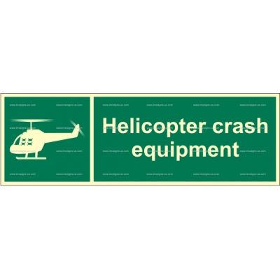2.077.4 Helicopter Crash Equipment 100x300mm
