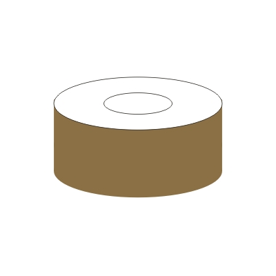 11.018 IMPA 33.2120 Golden Brown Pipe Tape 50mm 30m