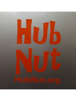 HubNut Sticker - External