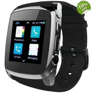 Supersonic® Bluetooth® Smart Watch with Call Fea..