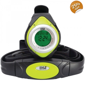 Heart Rate Monitor Watch with Minimum, Average & Maximum Heart Rate