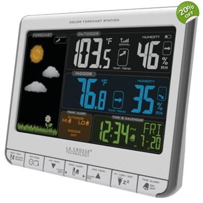 LaCrosse Technology Color Weather Station