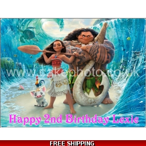 Moana Disney Princess Edible Cake Topper