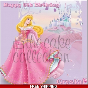 Sleeping Beauty Disney Princess Edible Cake Topper