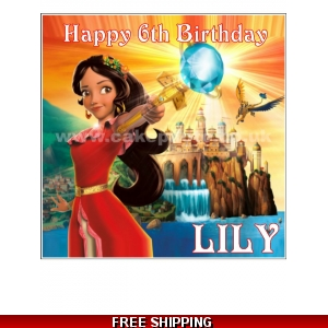 Elena of Avalor Disney Princess Edible Cake Topper