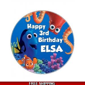 Disney Finding Dory Edible Cake Topper